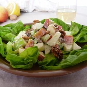 Вкусный весенний салат