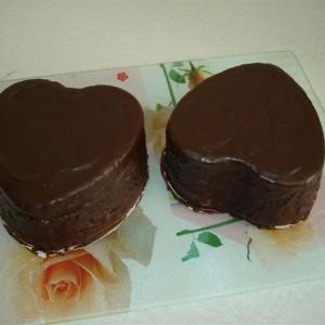 шоколадный мини тортик