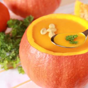 Японский завтрак-Среда-Закуска из картофеля и суп из тыквы