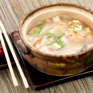 Японский завтрак-ВТОРНИК-Суп из ракушек
