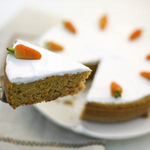 Морковный пирог. Carrot Cake. Gulerodskage