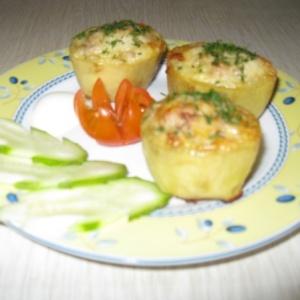 Бочонки картофельные с сюрпризом
