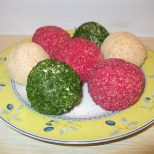 Крабовые разноцветные шарики