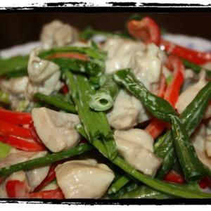 Теплый салат «Тори но маринадо»