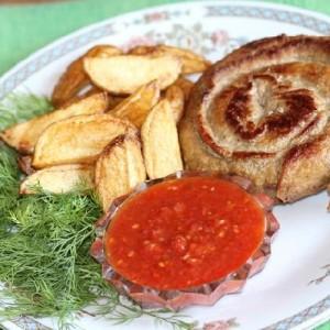Мясная улитка или фальшивая колбаса