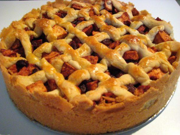 Американский пирог с карамелью