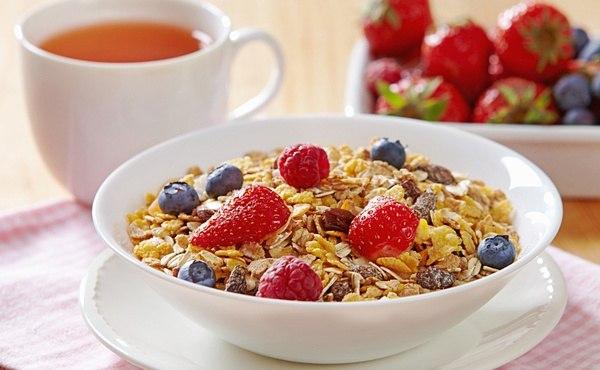 Здоровый и полезный завтрак