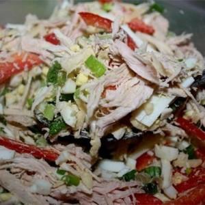 """Салат """"Парижель"""" Вкусный свежий салатик!"""
