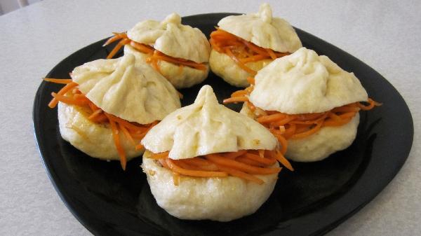 Корейский пирожок пянсе