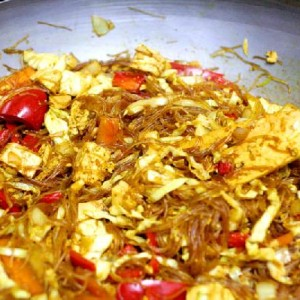 Сингапурская рисовая лапша