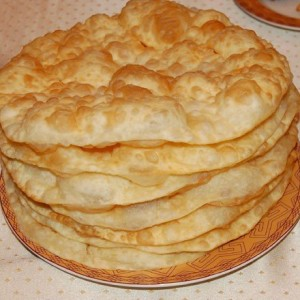Казахский шелпек на кефире