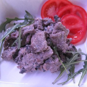 Говядина в винно-сливочном соусе
