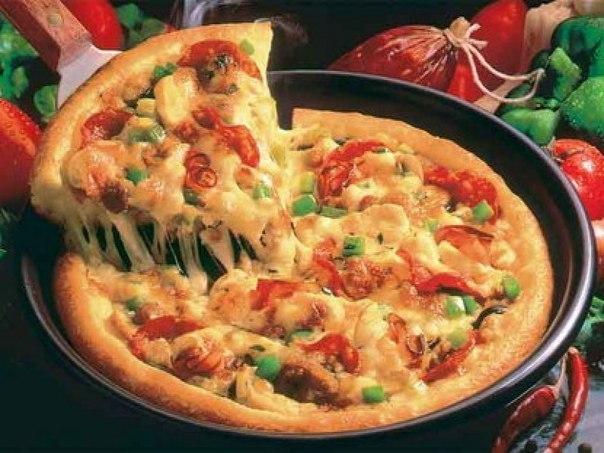 Как быстро приготовить тесто для пиццы и саму начинку?