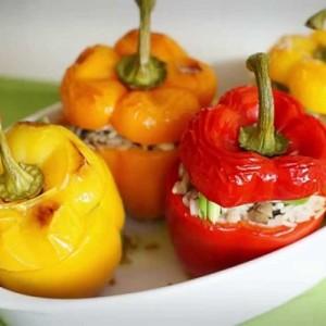 Рецепт для запекания фаршированного перца в духовке