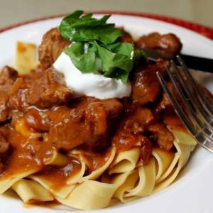 Быстрое приготовление макарон и блюда из свинины